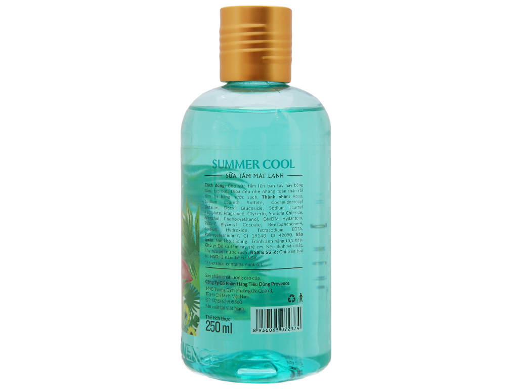 Sữa tắm Purité by Provence Summer Cool 250ml 3