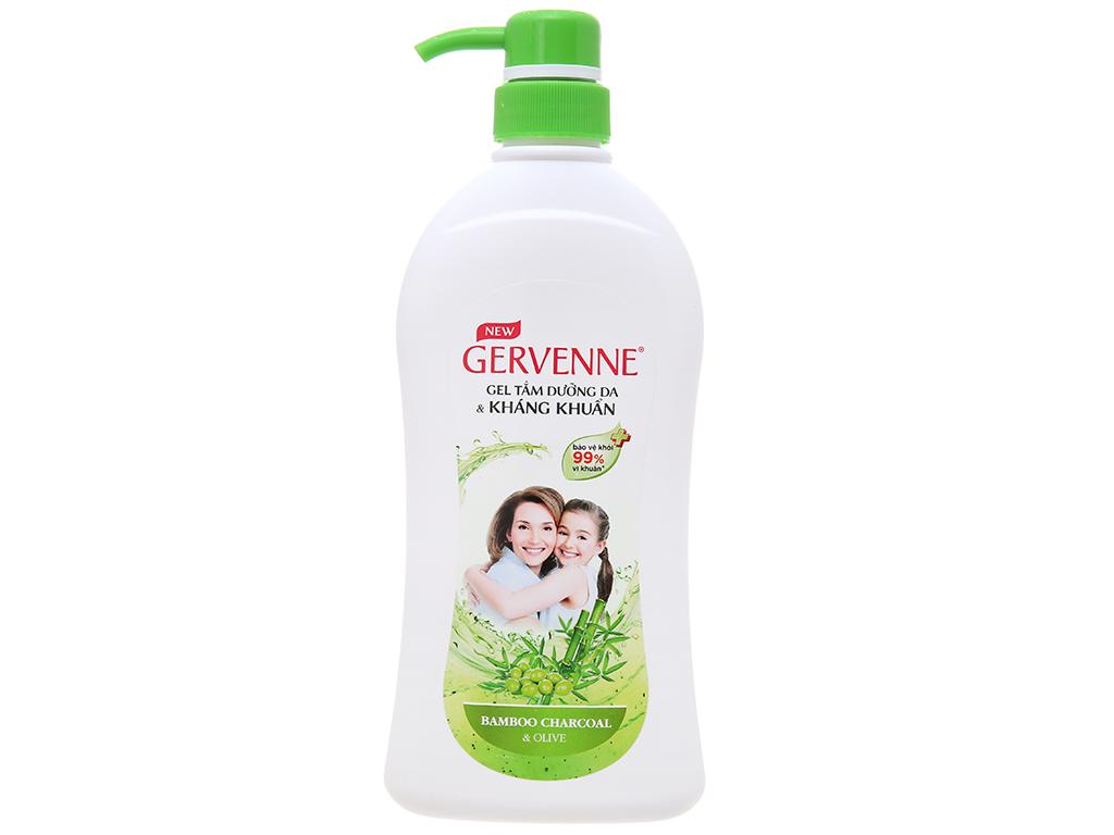Gel tắm dưỡng da & kháng khuẩn Gervenne 450g 2