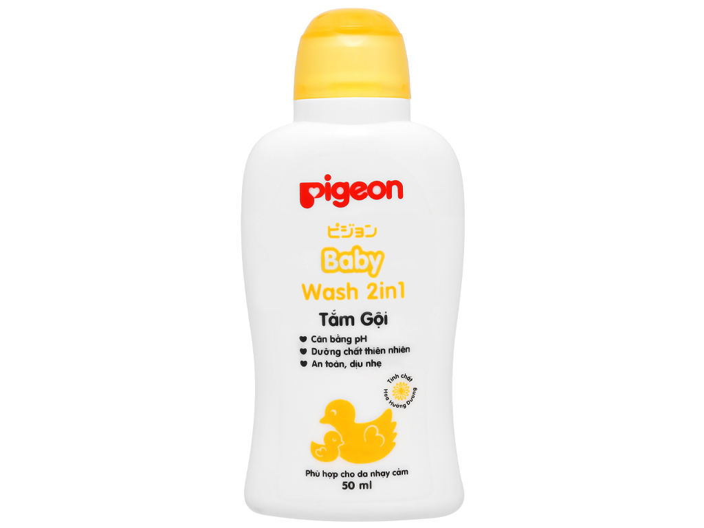 Sữa tắm cho bé Pigeon Liquid Soap 200ml 11