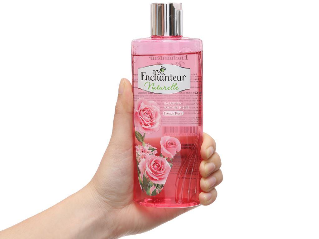 Sữa tắm Enchanteur cân bằng hương hoa hồng 260g 4