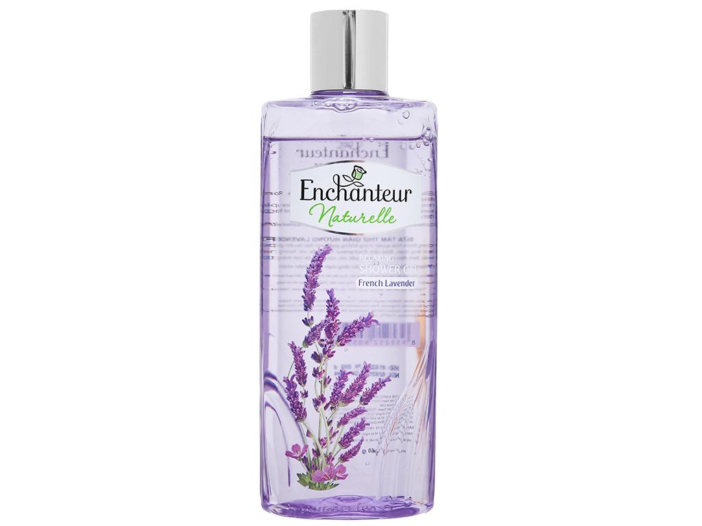 Gel tắm Enchanteur Naturelle hương Lavender 260g 2