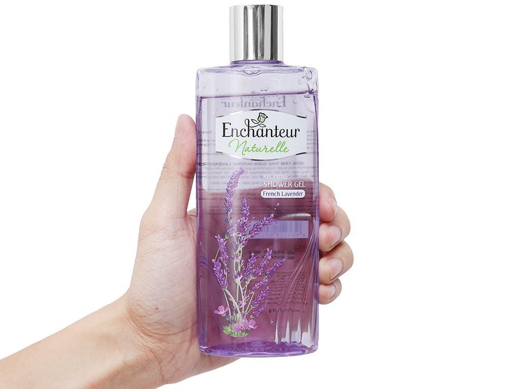 Gel tắm Enchanteur Naturelle hương Lavender 260g 4