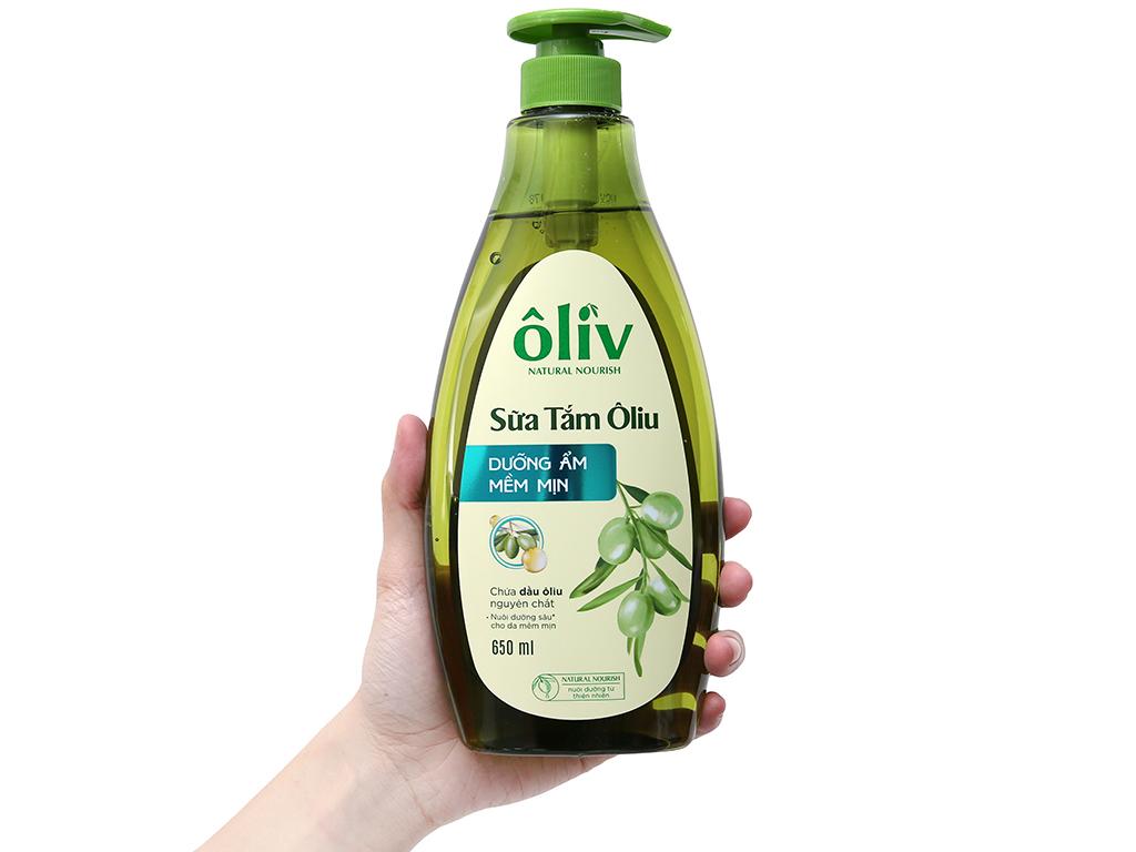 Sữa tắm Ôliv dưỡng ẩm mềm mịn 650ml 4