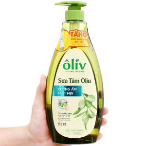 Sữa tắm Ôliv dưỡng ẩm mềm mịn 650ml