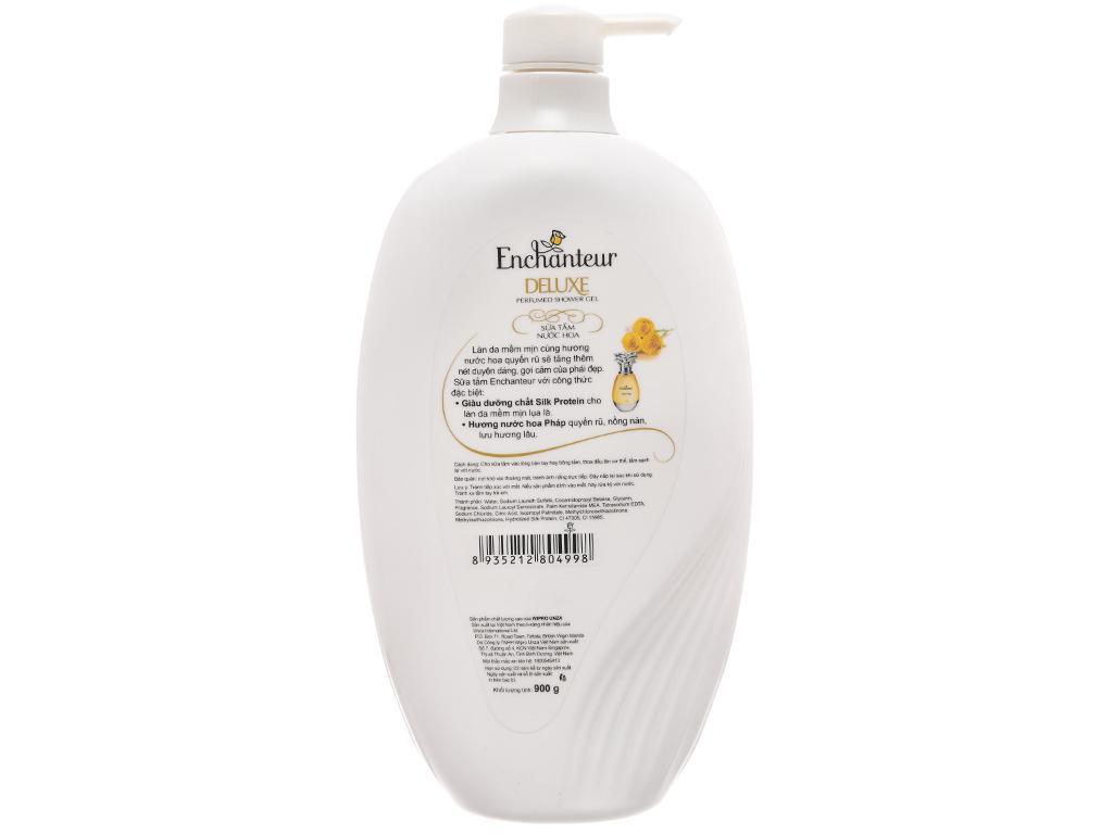 Sữa tắm nước hoa Enchanteur Deluxe Charming 900g 3