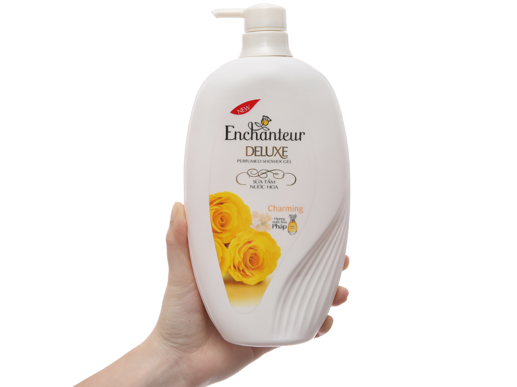 Sữa tắm nước hoa Enchanteur Deluxe Charming 900g 4