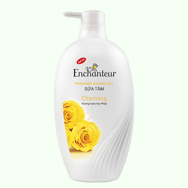 Sữa tắm nước hoa Enchanteur Deluxe Charming 900g