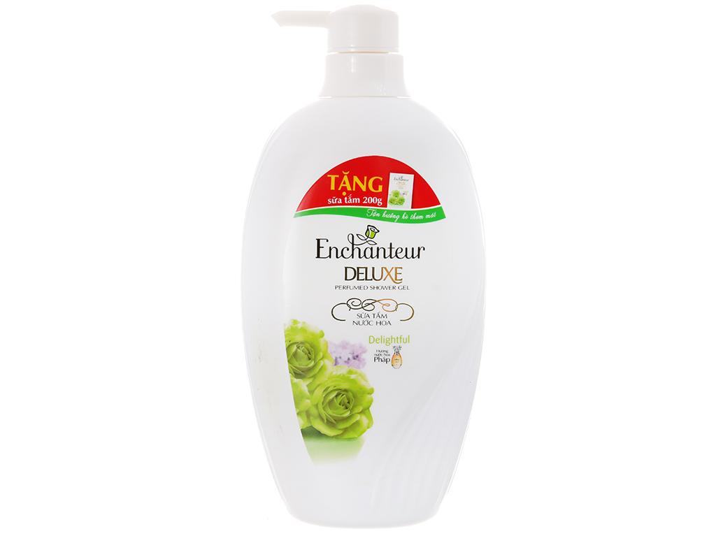 Sữa tắm nước hoa Enchanteur Deluxe Delightful 650g 2