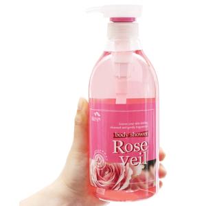 Sữa tắm tinh chất hoa hồng Body Shower 750ml