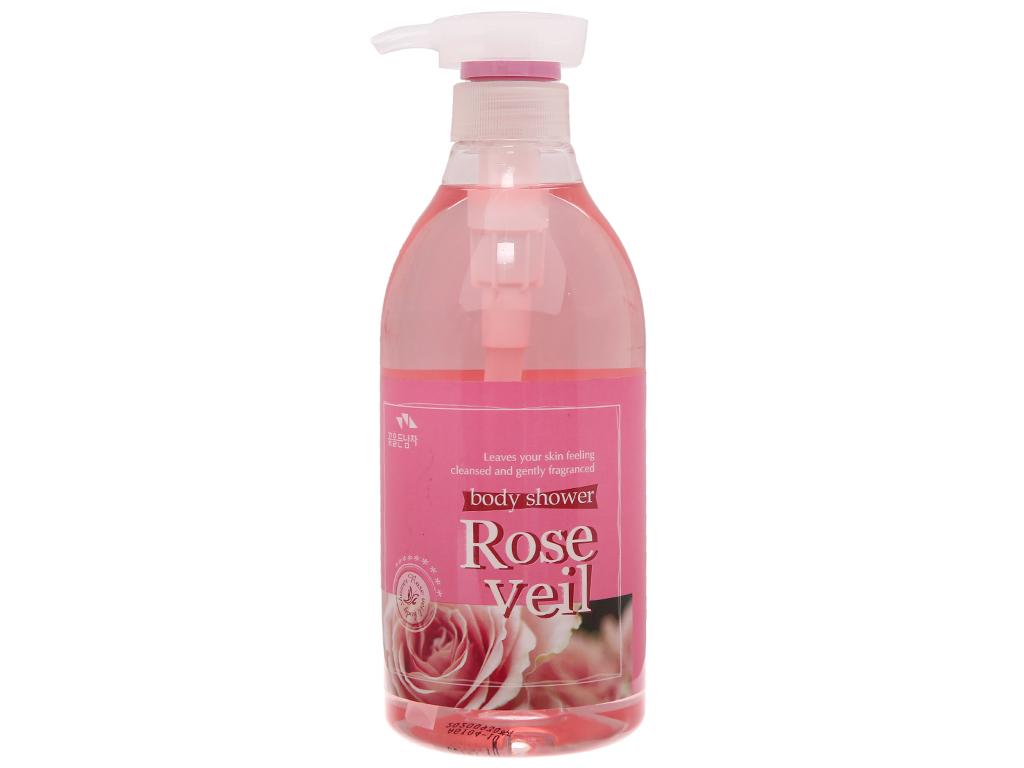 Sữa tắm Body Shower tinh chất hoa hồng 750ml 2