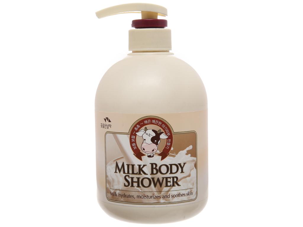 Sữa tắm tinh chất sữa Cosmocos 750ml 2