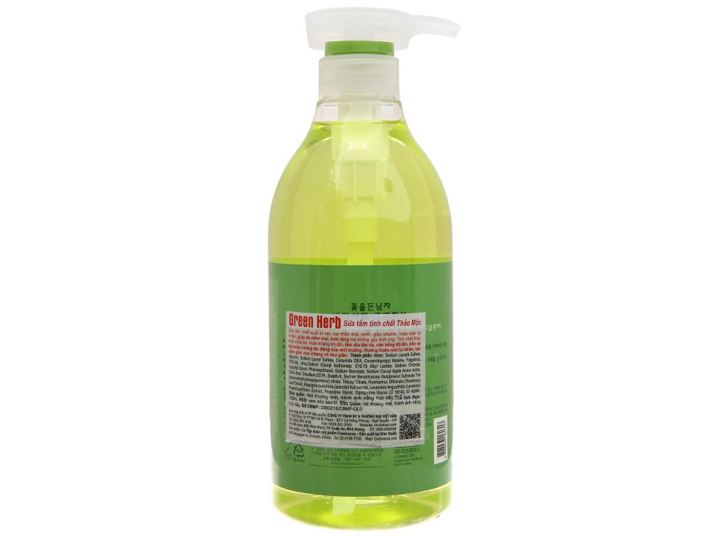 Sữa tắm tinh chất thảo mộc Body Shower 750ml 3