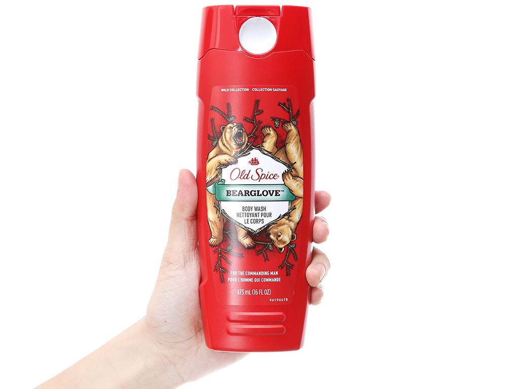 Sữa tắm Old Spice Bearglove 473ml 4