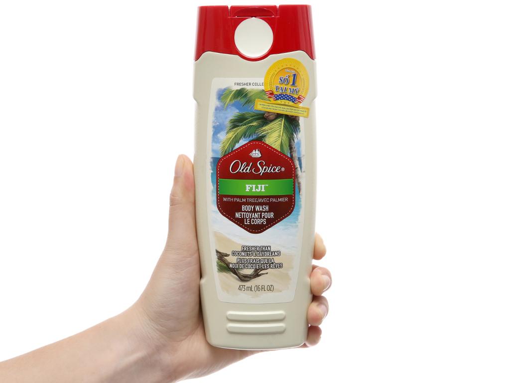 Sữa tắm Old Spice Fiji 473ml 4