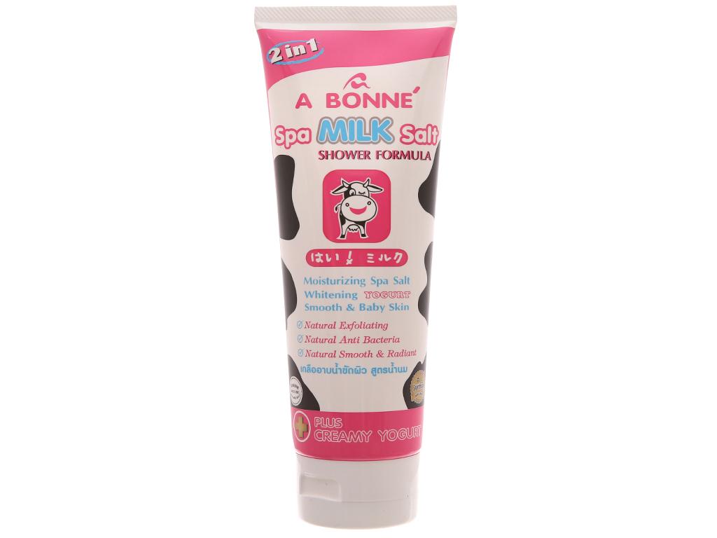 Muối tắm sữa spa A Bonné Formula 350g 2