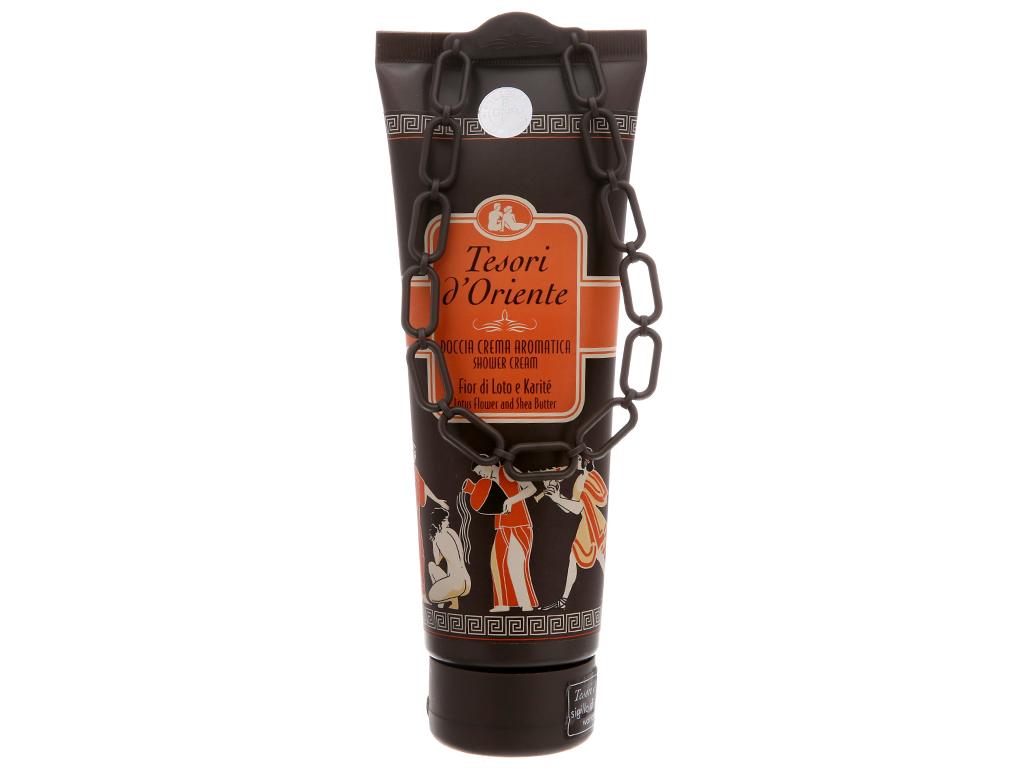 Sữa tắm nước hoa hoa sen Tesori 250ml 2