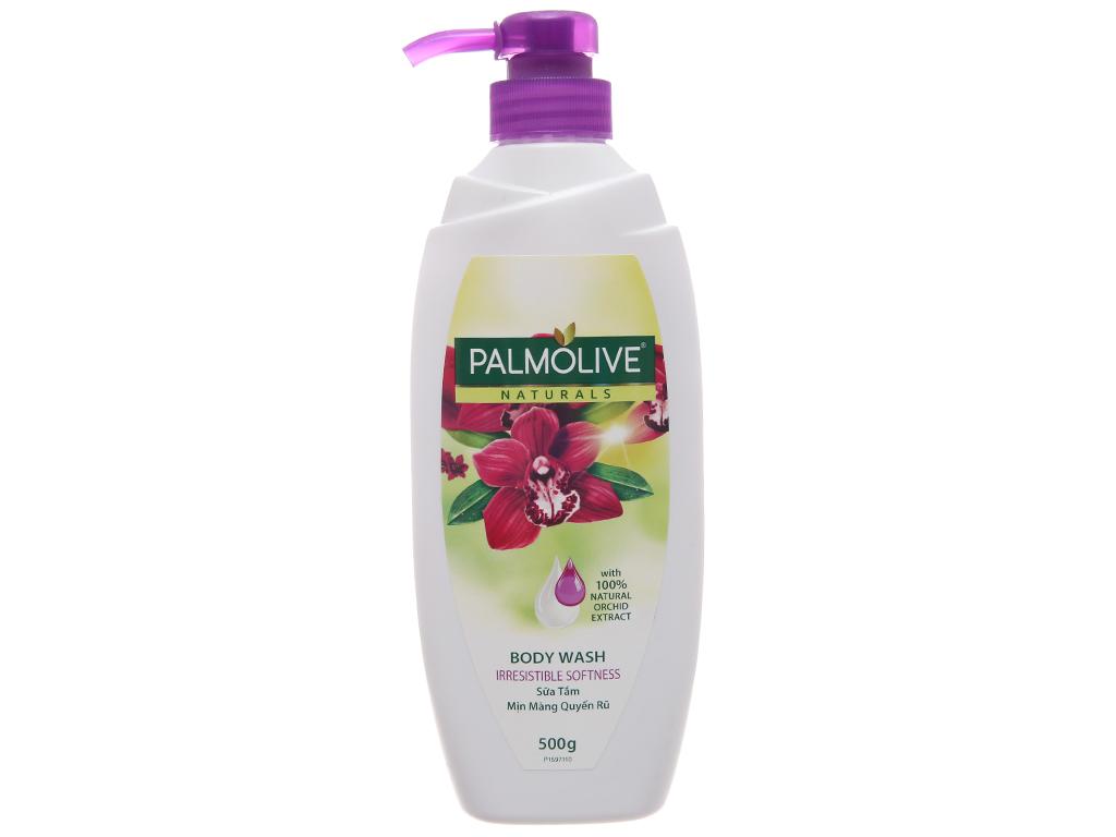 Sữa tắm mịn màng quyến rũ Palmolive hoa phong lan 500g 2