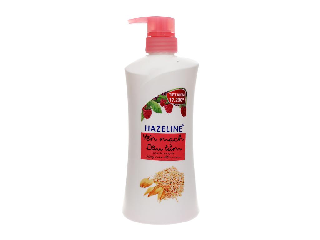 Sữa tắm Hazeline 670g 2