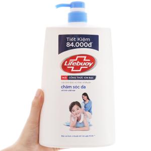 Sữa tắm bảo vệ khỏi vi khuẩn Lifebuoy chăm sóc da 1.078 lít