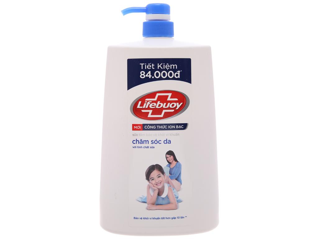 Sữa tắm bảo vệ khỏi vi khuẩn Lifebuoy chăm sóc da 1.078 lít 2
