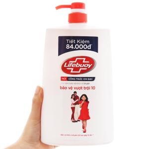 Sữa tắm bảo vệ khỏi vi khuẩn Lifebuoy bảo vệ vượt trội 10 1.078 lít