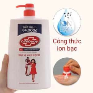 Sữa tắm bảo vệ khỏi vi khuẩn Lifebuoy bảo vệ vượt trội 1.078 lít