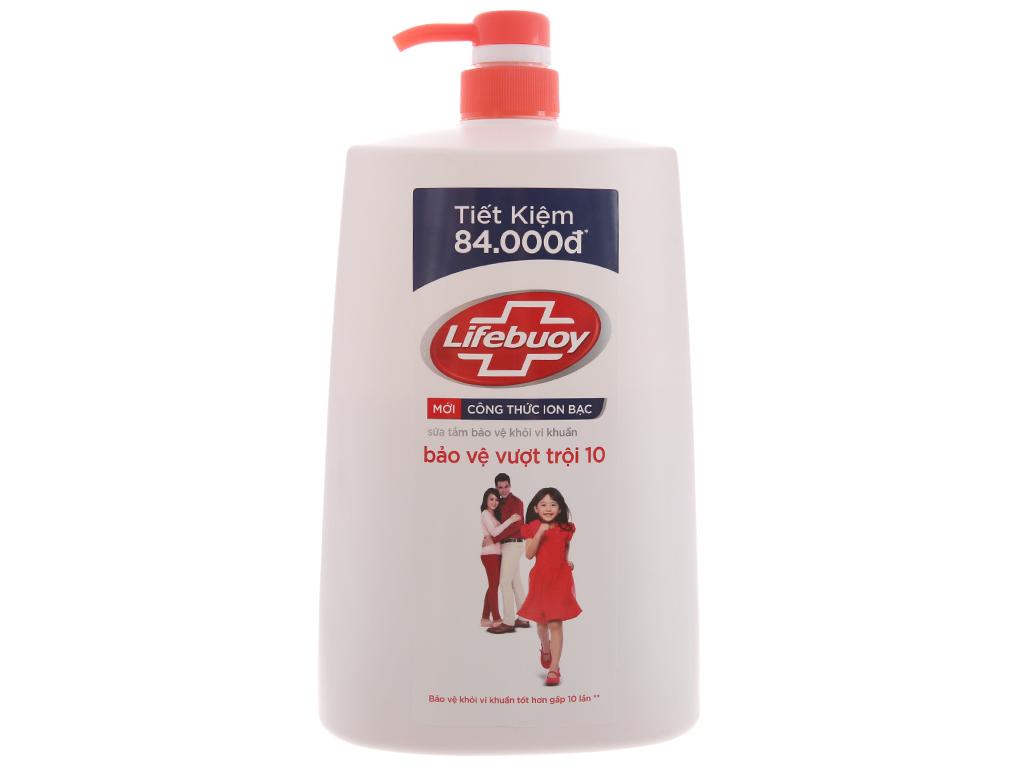 Sữa tắm bảo vệ khỏi vi khuẩn Lifebuoy bảo vệ vượt trội 10 1.078 lít 1