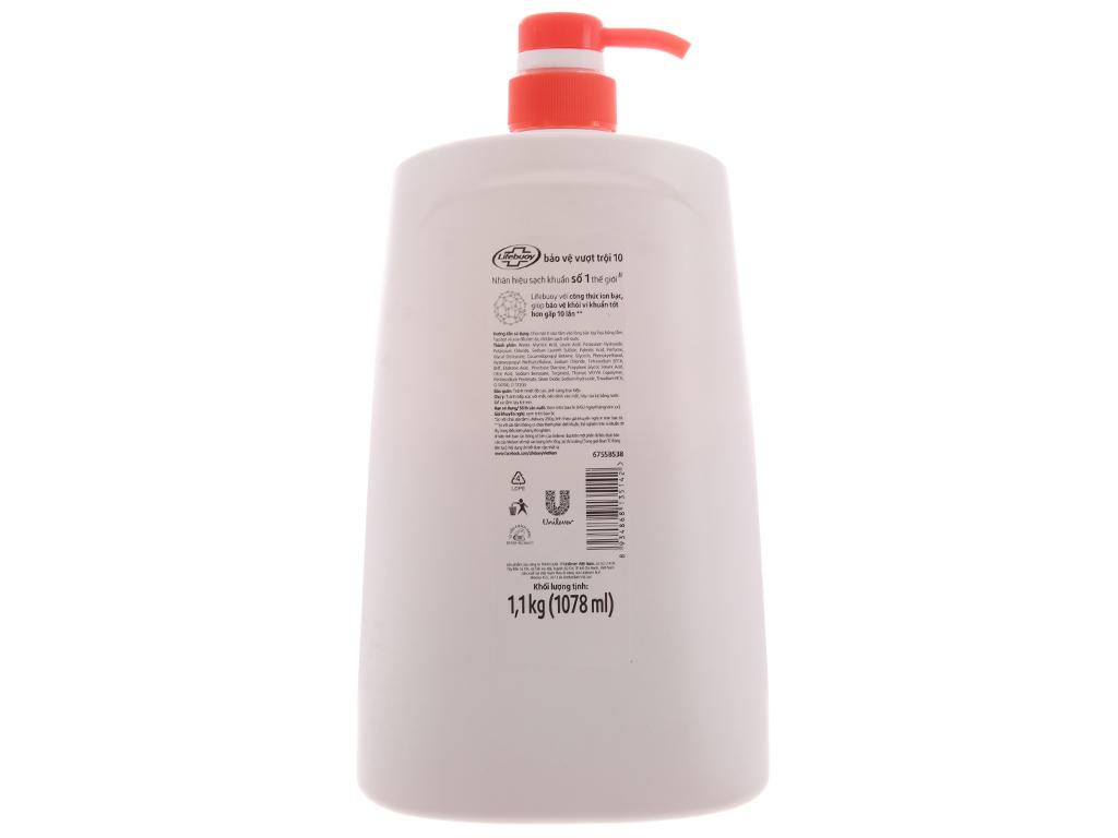 Sữa tắm bảo vệ khỏi vi khuẩn Lifebuoy bảo vệ vượt trội 10 1.078 lít 2