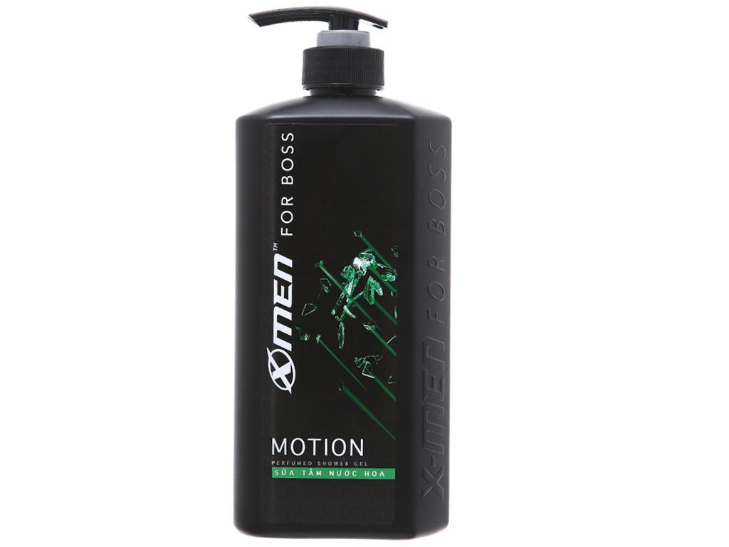 Sữa tắm nước hoa X-Men For Boss Motion 650g 2