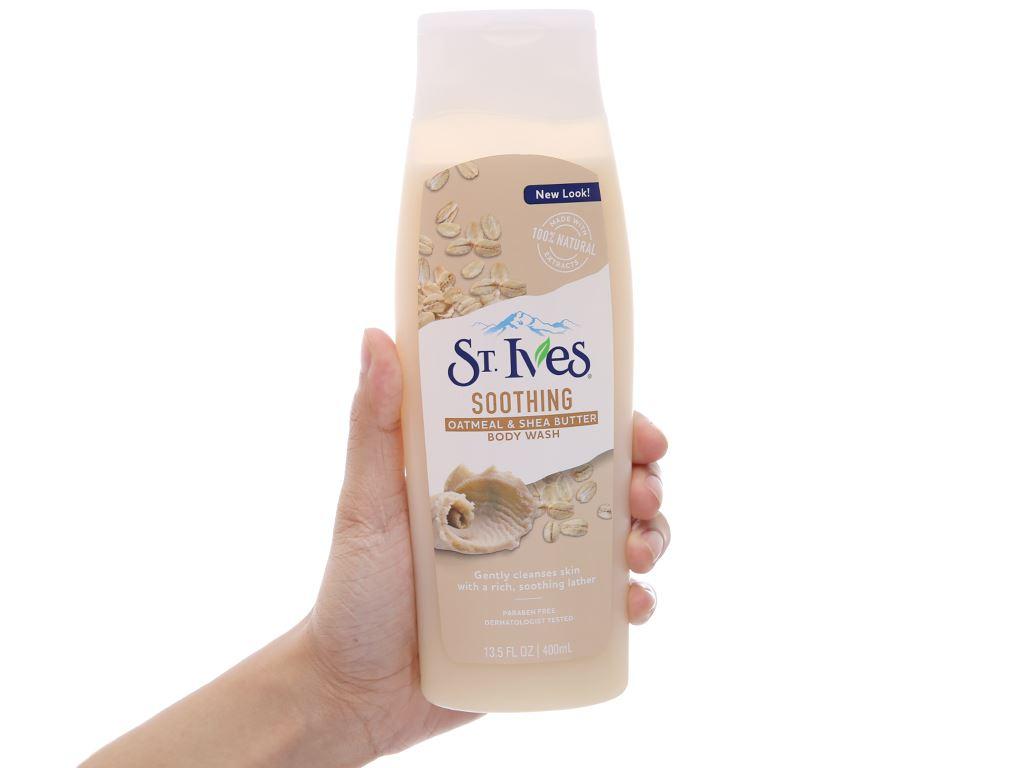 Sữa tắm ST.IVES yến mạch & bơ 400ml 3