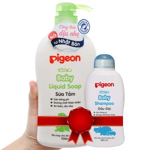 Sữa tắm cho bé Pigeon Liquid Soap 700ml