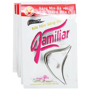 Sữa tắm dưỡng da Familiar 5g x 12 gói