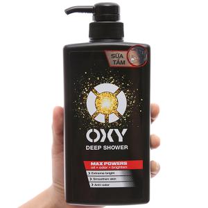Sữa tắm tác động sâu OXY Deep Shower 500ml
