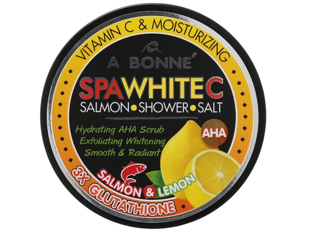 Muối tắm A Bonné Vitamin C chiết xuất cá hồi 350g 2