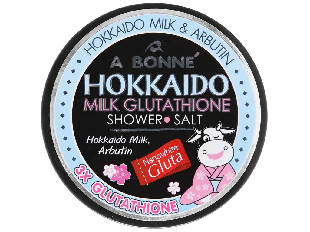 Muối tắm sữa A Bonné Hokkaido 350g 2