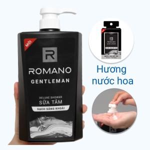 Sữa tắm nước hoa Romano Gentleman sạch sảng khoái 650g