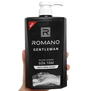Sữa tắm nước hoa Romano Gentleman 650g
