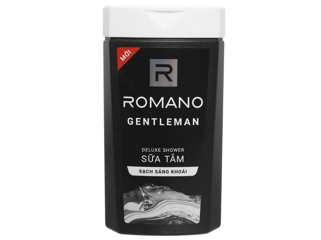 Sữa tắm nước hoa Romano Gentleman 180g 1