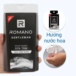 Sữa tắm nước hoa Romano Gentleman sạch sảng khoái 380g