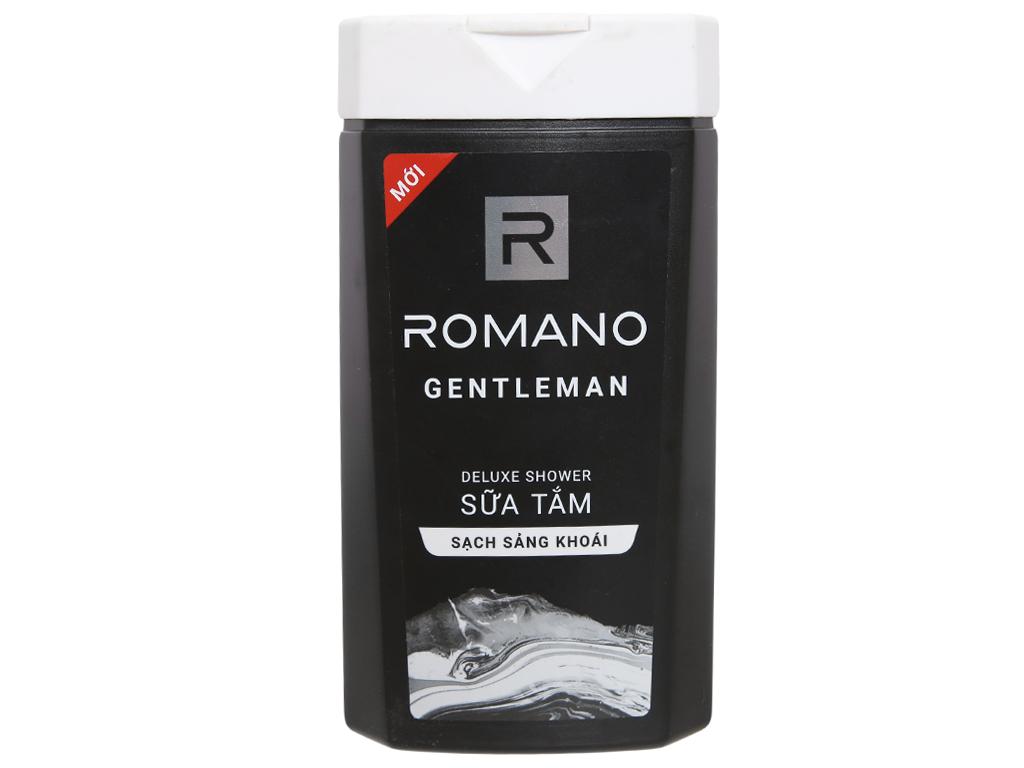 Sữa tắm nước hoa Romano Gentleman sạch sảng khoái 380g 2