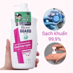 Sữa tắm sạch sâu kháng khuẩn Bioré sạch mịn thư giãn 800g
