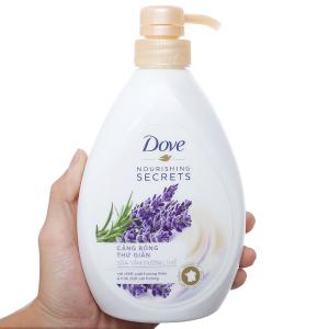 Sữa tắm dưỡng thể Dove tinh chất hương thảo và oải hương 527ml