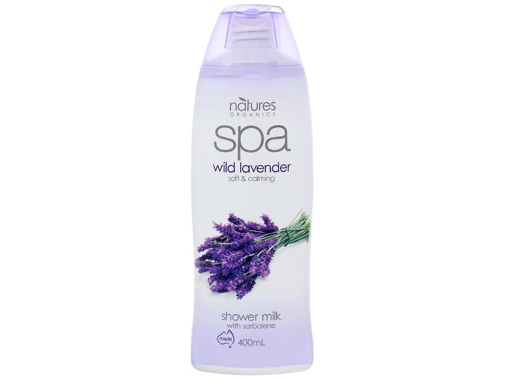 Sữa tắm Spa Wild Lavender thư giãn mềm mịn 400ml 1