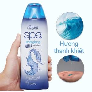 Sữa tắm Spa Men's Energising Aqua Fresh Organic Care 400ml