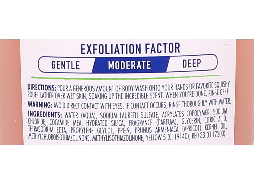 Sữa tắm ST.IVES Fresh Skin hương mơ 400ml 6