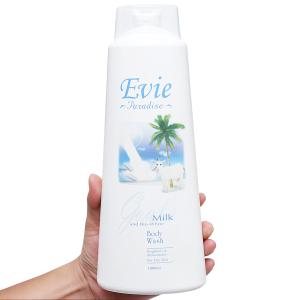 Sữa tắm Evie Paradise tinh chất sữa dê 1 lít