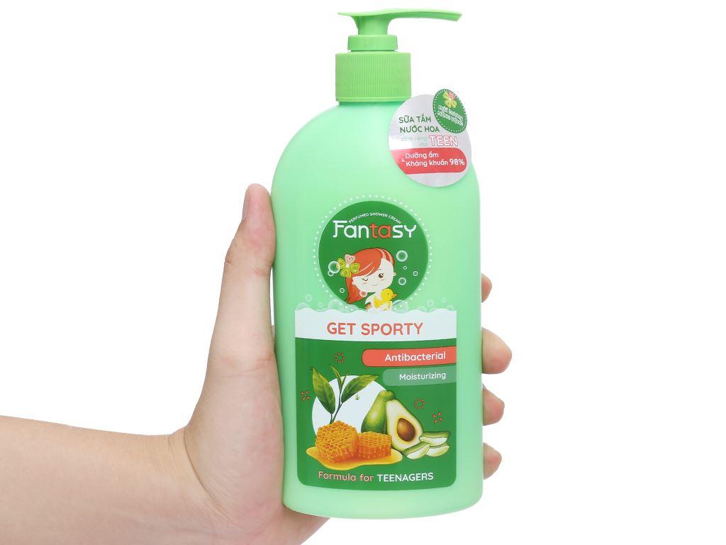 Sữa tắm nước hoa Fantasy Get Sporty 400ml 4