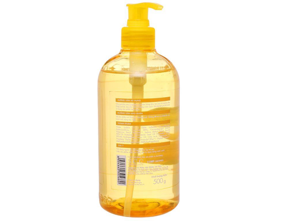 Gel tắm dưỡng ẩm Fresh Organic mật ong Manuka 500g 3