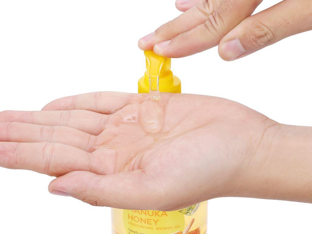 Gel tắm dưỡng ẩm Fresh Organic mật ong Manuka 500g 6