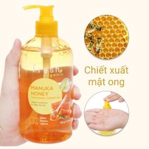 Gel tắm dưỡng ẩm Fresh Organic mật ong Manuka 500g